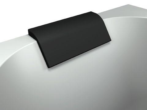 Sanplast Gelová opěrka hlavy 260x86 mm, černá (661-A0024-43)