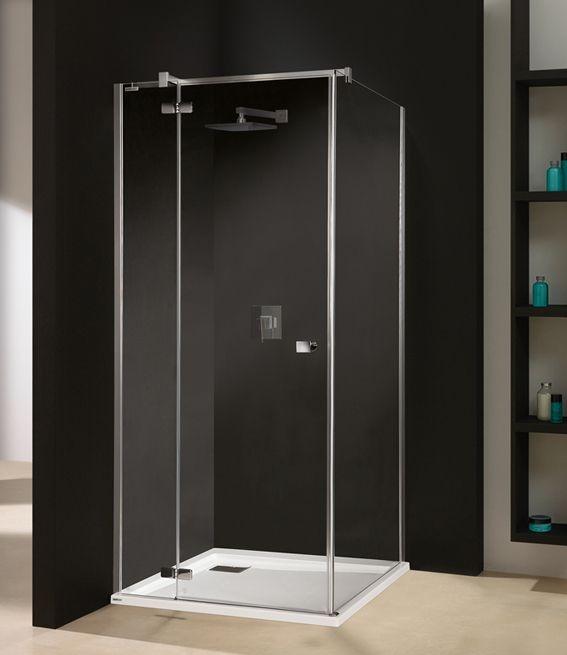 Sprchový kout čtverec Sanplast KNDJ2/FREE-80, chrom/stříbro bl, sklo čiré