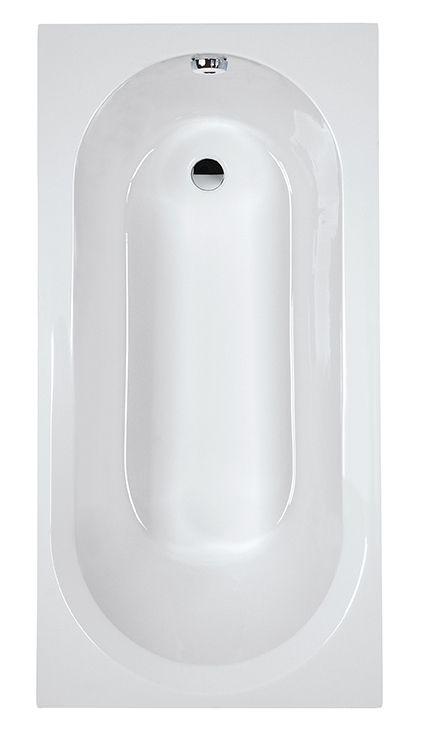 Akrylátová obdélníková vana Sanplast IDEA-WP-160x70+STW (vč. nožiček)