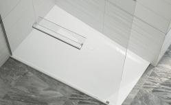 Náhled:Sanplast Sprchová vanička asymetrická BTL(P)-M/SPACE, litý mramor - levá
