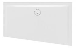 Náhled:Sanplast Sprchová vanička asymetrická BTL(P)-M/SPACE, litý mramor - pravá
